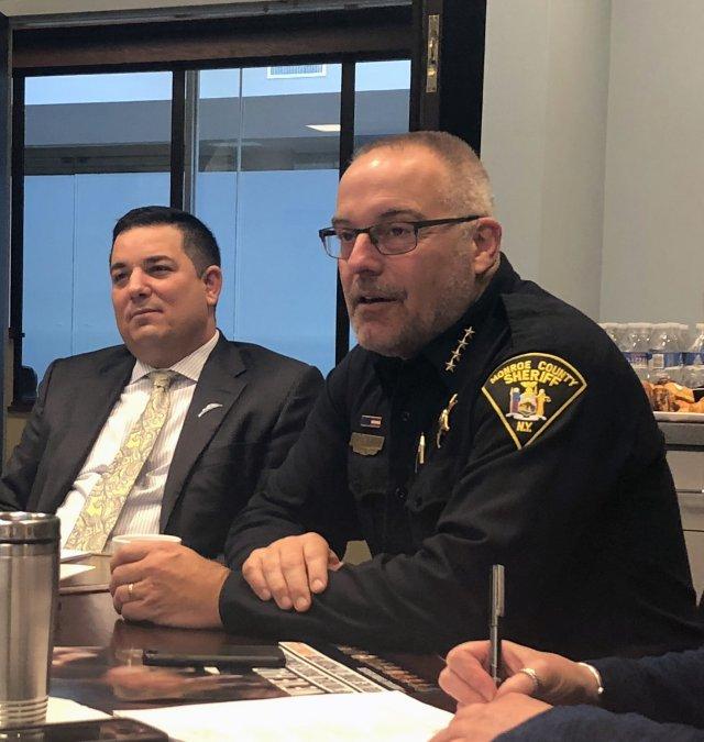 Monroe County Sheriff Presents on Opioid Epidemic   Pandion